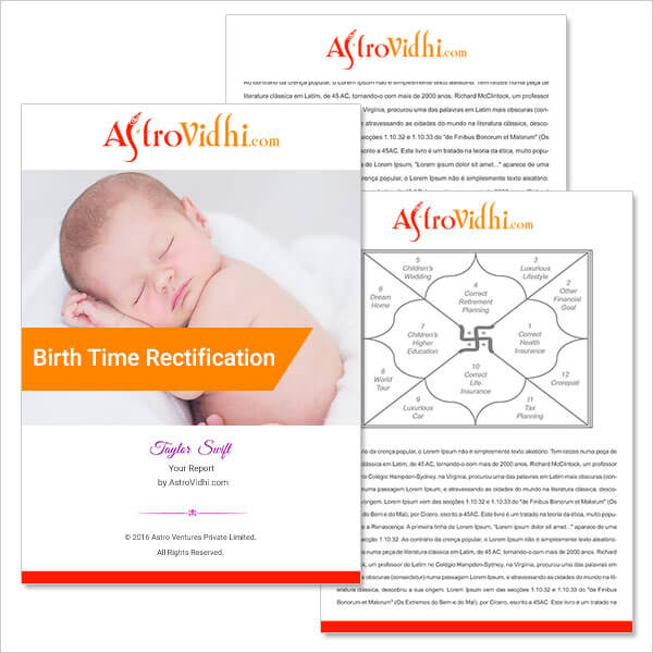 Birth Time Rectification