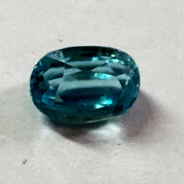 Natural Blue Zircon - 3.00 Ct