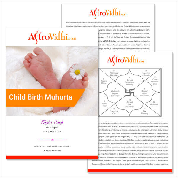 Child Birth Muhurta
